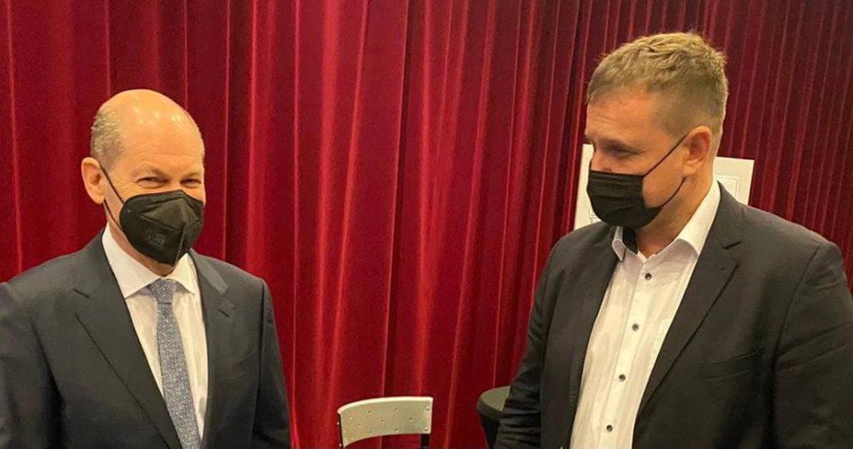 Dr. Knabe trifft Finanzminister Olaf Scholz
