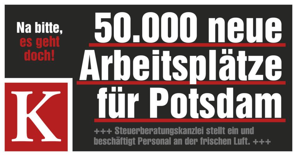 Einzigartige Jobinitiative für Potsdam – ein Interview mit Dr. Stephan Knabe